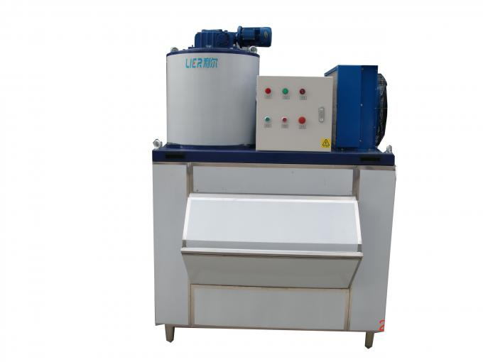 Air Cooling Flake Ice Maker Commercial Machine For Meat / Dair