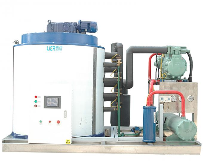 High Efficient Industrial Flake Ice Machine With Ice Room 20000kg Ice Capacity
