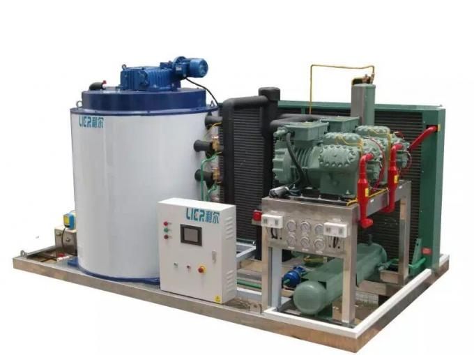 40T Large Capacity Ice Machine With Two Sets Of Evaporators / One Unit