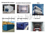 ประเทศจีน Easy Operation Containerized Block Ice Machine Commercial 3P-380V-50HZ โรงงาน